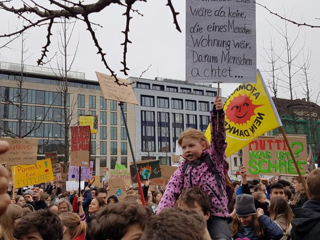 Fridays for Future-Demo am 29.3.2019 in Berlin